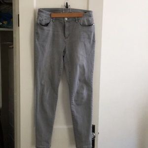 Chico's gray jeans